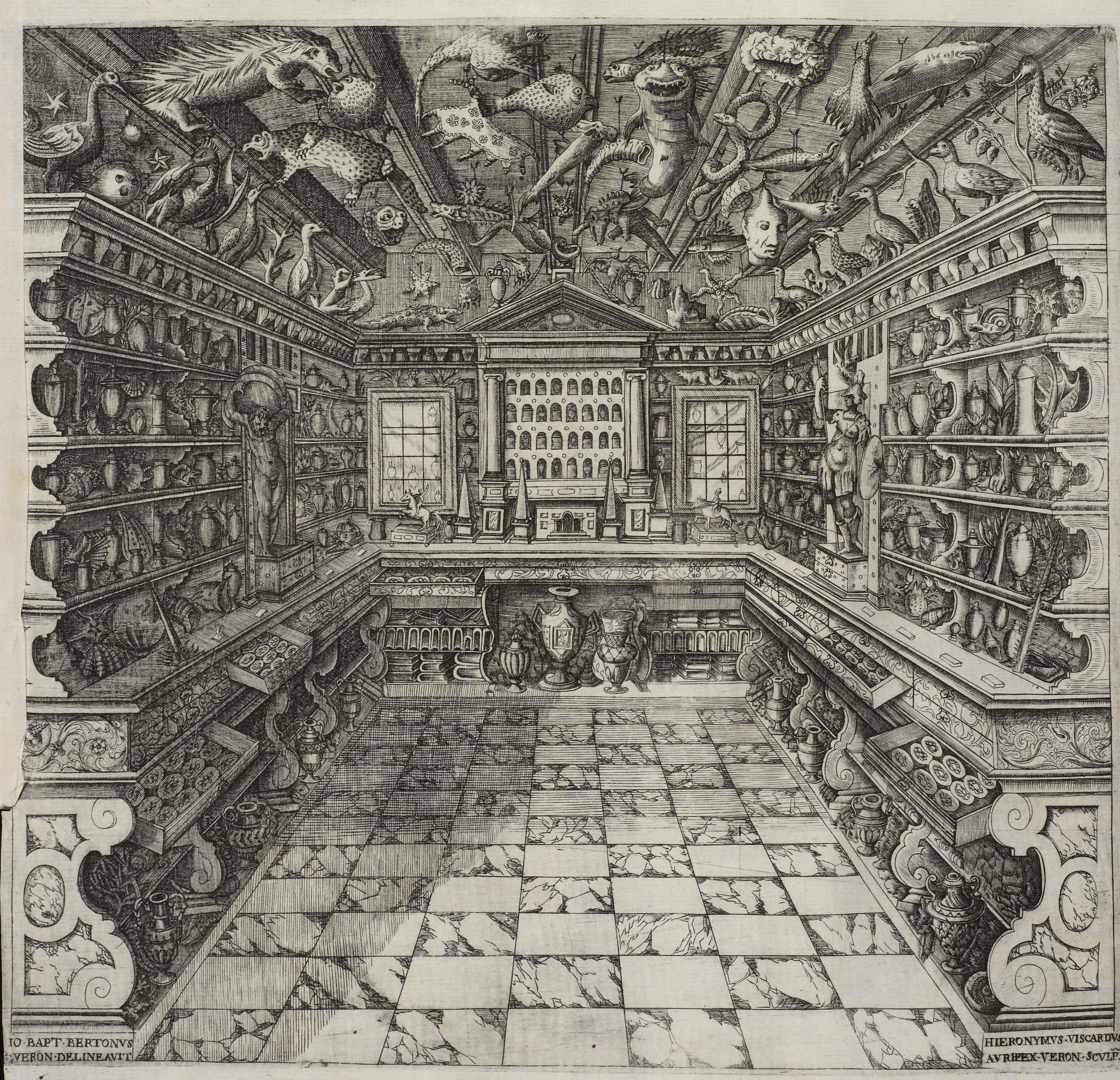 Musaeum Calceolarii, 1622