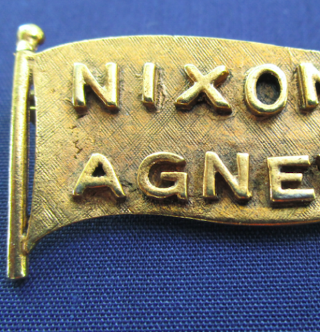 Image for Brooch, Richard M. Nixon (Republican)