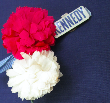 Image for Flower corsage, John F. Kennedy (Democratic)