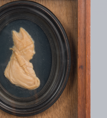 Image for Wax profile of William of Wykeham