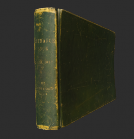 Image for Entrance Book (3D)