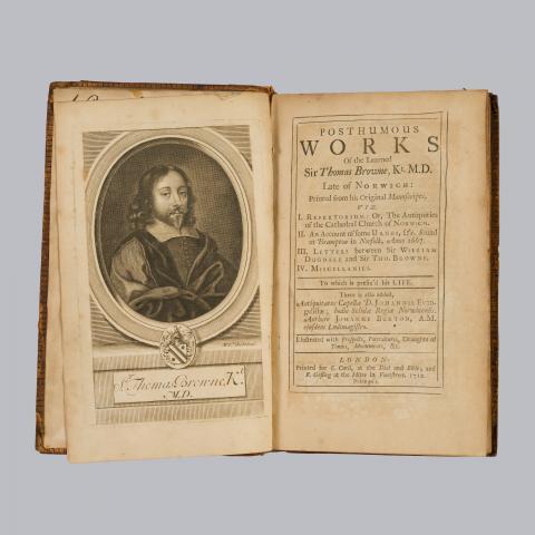 Image for Thomas Browne, Posthumous works