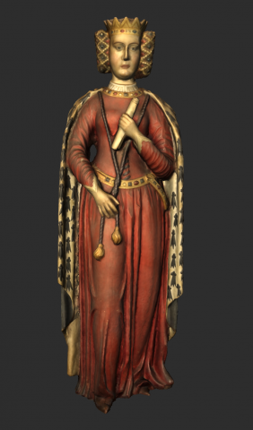 Image for Statue of Queen Philippa (3D)