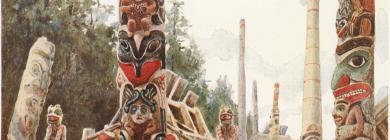 Image for Star House Pole: Early Images of the Haida Totem Pole in the Pitt Rivers Museum