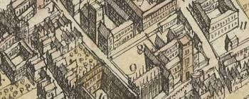 Image for Central Oxford in 1643