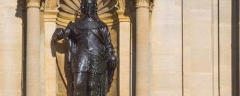 Image for Statues of Charles I and Henrietta Maria, Canterbury Quadrangle, St John's College