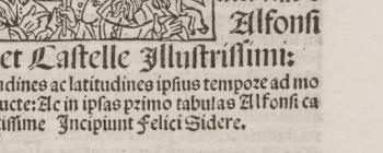 Image for Tabule astronomice Alfonsi Regis (Venice, 1492)