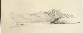 Image for Drawing of mountains