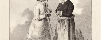 Image for Lithograph of a Swedish man and woman