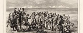 Image for Lithograph of Saami people
