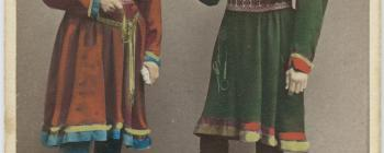 Image for Models of a Saami couple 1