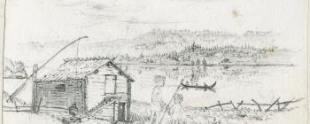 Image for Drawing of a lake