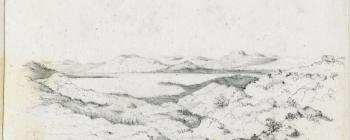 Image for Drawing of Lake Hammasjarvi 1