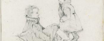 Image for Drawing of Saami children 1