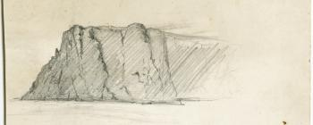 Image for Drawing of a mountain