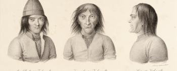 Image for Lithograph of Saami men