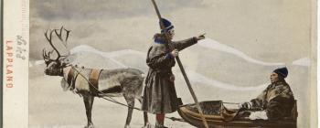 Image for Models of Saami men 1