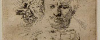 Image for Rembrandt, Self portrait