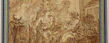 Image for Boucher, The Invention of Drawing (18th century)