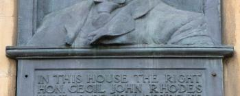 Image for Inscription to Cecil Rhodes - King Edward Street