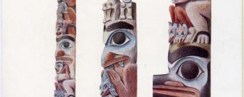 Image for Tylor, E. B. - 'Note on the Haida Totem-post...' pp. 1 (facing)