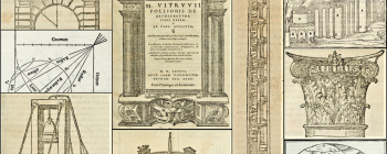 Image for Montage from Vitruvius De architectura 1511