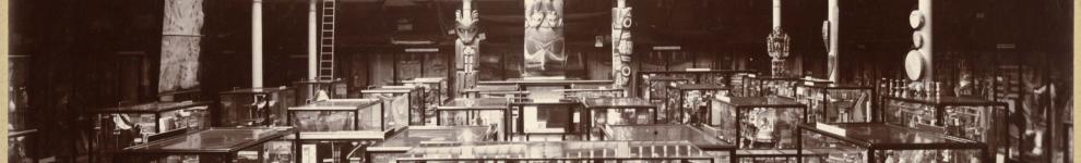 Image for Photographs of the Haida totem pole in the Pitt Rivers Museum (1901 onwards)